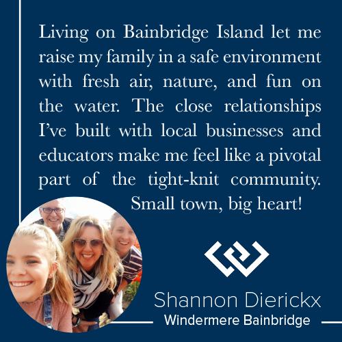 Bainbridge Island Living Shannon Dierickx