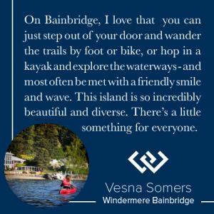 Bainbridge Island Living Vesna Somers
