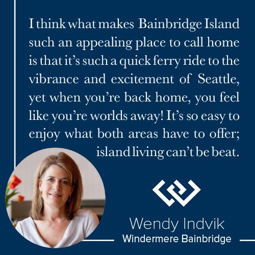 Bainbridge Island Living Wendy Indvik