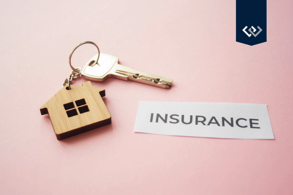 title insurance key with house