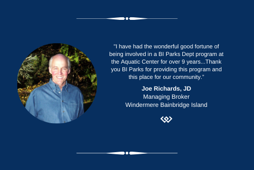 Joe Richards Bainbridge Parks Dept quote