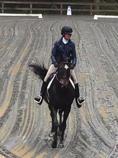 Maureen Buckley horseback riding